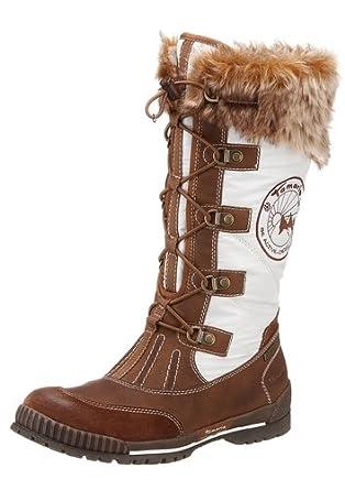 heiße Angebote unglaubliche Preise Factory Outlets TAMARIS Stiefel von Tamaris mit Tex-Ausstattung weiss/braun ...
