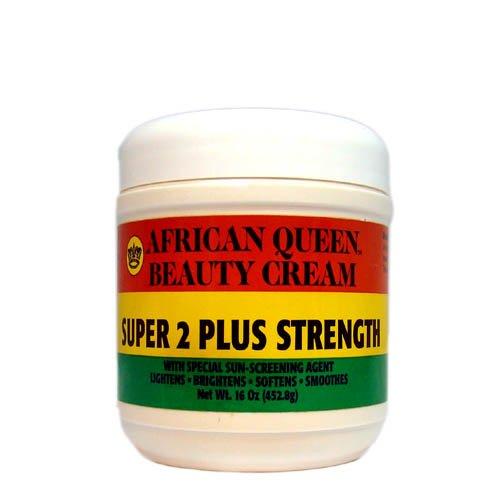 African Queen Beauty Cream Super 2 Plus Strength 16oz by AFRICAN QUEEN
