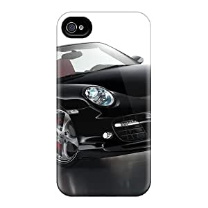 New Premium Flip Cases Covers 2008 Porsche Techart 997 Cabriolet Skin Cases For Iphone 4/4s