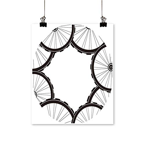 Single Painting ROA Mountain Bike Wheels Tires Office Decorations,12