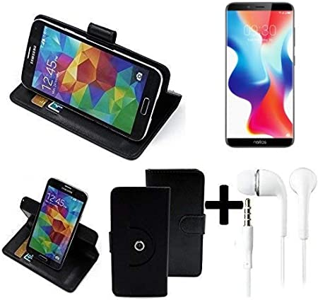 K-S-Trade Top Set: 360° Funda Smartphone para TP-Link Neffos X9 ...