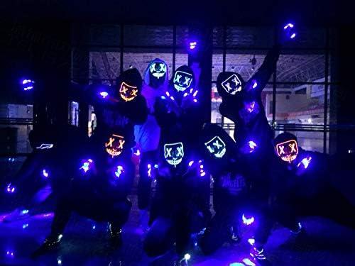 Halloween Mask LED Mask Scary Mask LED Light Up Mask