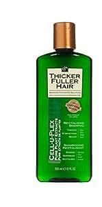 Thicker Fuller Hair Moisturizing Shampoo, 12 Ounce