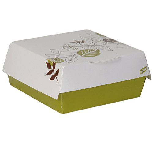 Dixie 4021PATH Georgia-Pacific Small Clamshell Hamburger Take-Out Carton (Pack of 200) by Dixie