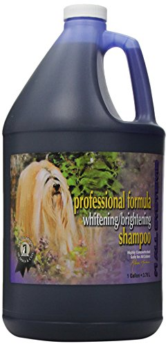 #1 All Systems Professional Formula Whitening Dog and Cat Shampoo, 1-Gallon ()