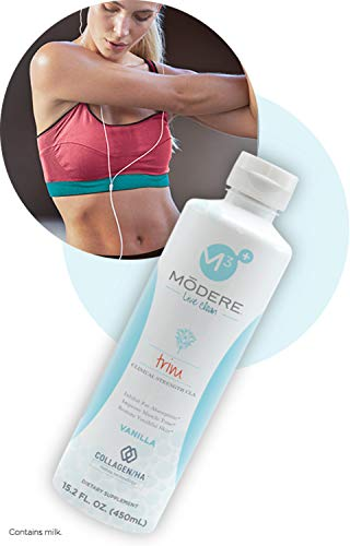 Modere Trim Vanilla Collagen Weight Loss Toning All Natural Supplement with Hyaluronic Acid & Peptides ()