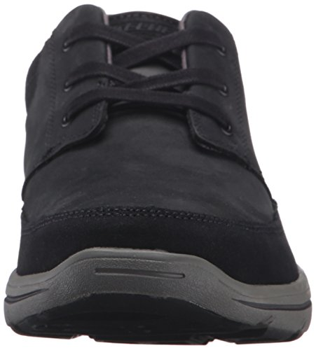 Skechers Usa Mens Harper Lenden Oxford Black Leather