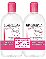Bioderma Crealine H2O micellair water, 2 x 500 ml
