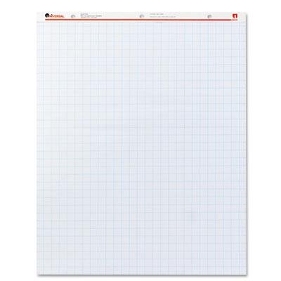 Brand New Universal Recycled Easel Pads Quadrille Rule 27 X 34 White 50-Sheet 2/Ctn by Original Equipment Manufacture
