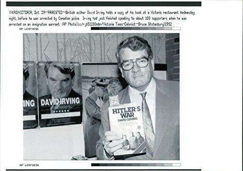 Vintage photo of David Irving.