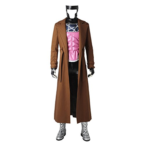 CosplayDiy Men's Outfit for X-Men Remy Etienne Gambit Cosplay Costume -