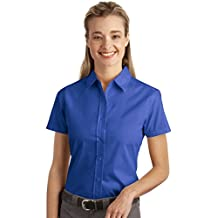 Port Authority Women's Short-Sleeve Easy Care Wrinkle Resistant Shirt