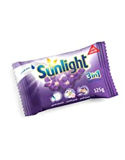 Sunlight 3 in 1 Super Bar Soap with Lavender - 125 gm