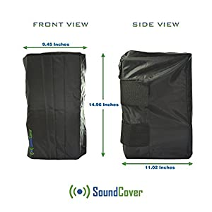 Dust / Sun / Water Protection for Outdoor Speakers - Covers for Definitive Technology AW 6500 and Klipsch AW-650 by Sound Cover (Two Covers)