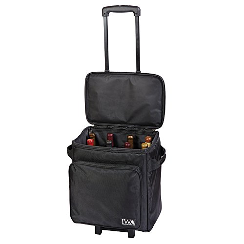 (IWA Wine Trolley Bag 12 Bottle New #27151)
