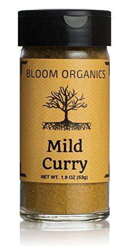 (Bloom Organics Mild Curry USDA Certified Organic, 1.9 oz - Glass Jar)
