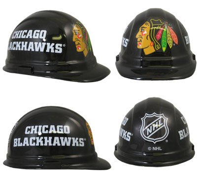 WinCraft NHL Chicago Blackhawks Packaged Hard Hat ()