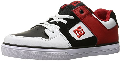 DC - - Jungen rein elastischen Schuh Rot