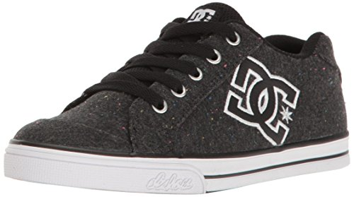 sea SE Skate Shoes Sneaker, Black/Multi, 12.5 M US Little Kid (Dc Girls Shoes)