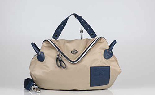 Bag Shoulder In Milanese-b Ghiaia Made Italy Orobianco 100
