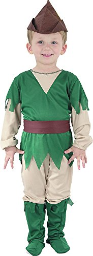 Book Week Costume For Kids (Children's Book Week Fancy Dress Party Robin Hood Outfit Toddler Costume)