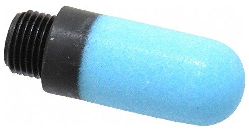 1/8 BSPP, 34mm OAL, Muffler 145 Max psi, 63 CFM, 80 Decibel Rating, Polyethylene by Legris