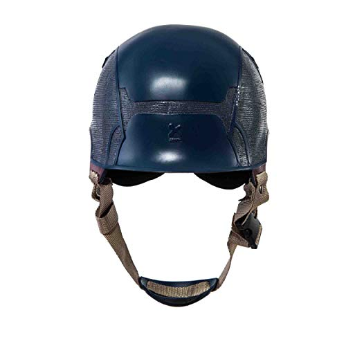 Traveller Captain America 3 Civil War Helmet Movie Cosplay Props for Adult, Navy Blue, one size by Traveller (Image #5)
