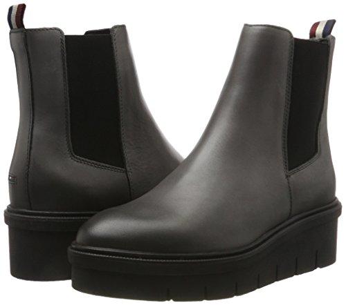 Boots Grey Women''s light Chelsea 2a Tommy D1385eena Grey Jeans YSnppWwR
