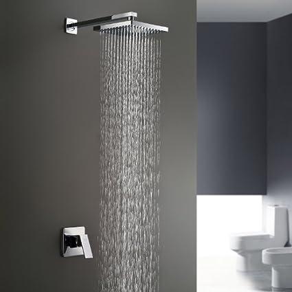 Lightinthebox Chrome Wall Mount Bathroom Bath Shower System Fixed ...