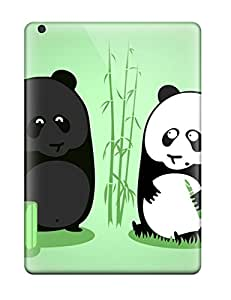 YCb-5853QtfdnNuX Case Cover Protector For Ipad Air Tanned Panda Case
