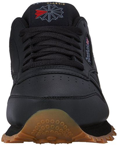 clearance big discount clearance shopping online Reebok Men's Classic Leather Fashion Sneaker Black/Gum cheap comfortable BUxoBe