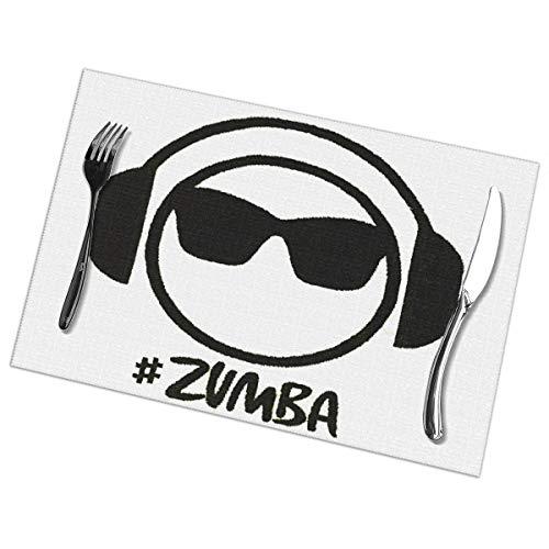 Zumba Headset Music Sunglass 6 Piece Set of