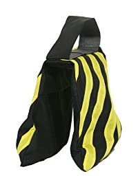 Sandbag Sandbags Black Yellow Sandbag Photography Sandbag Studio Video Equipment Sandbag Sand Bag Saddle Bag for Boom Stand Tripod By Fancier Black Yellow Sandbag