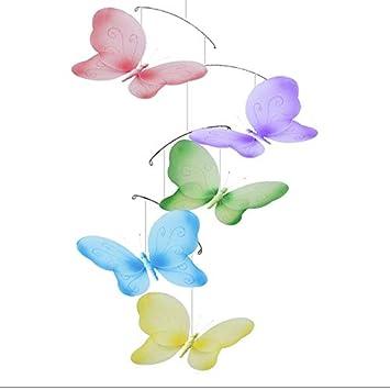 Baby Shower Decoración de Mesa 24 X 3D Papel Mariposa Adornos Tarjetas Azul