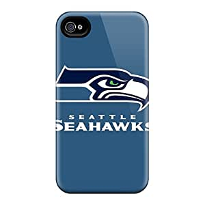 New Style 4/4s Protective Cases Covers/ Iphone Cases - Seattle Seahawks 3