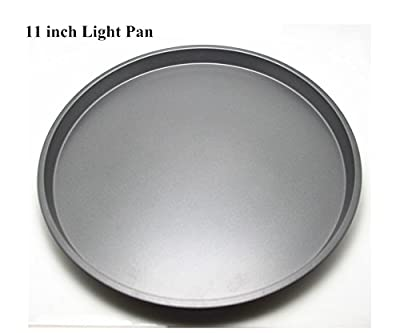Fangfang Nonstick Light Pizza Pan Pizza Tray Evenly Bakes Heat (11 Inch)