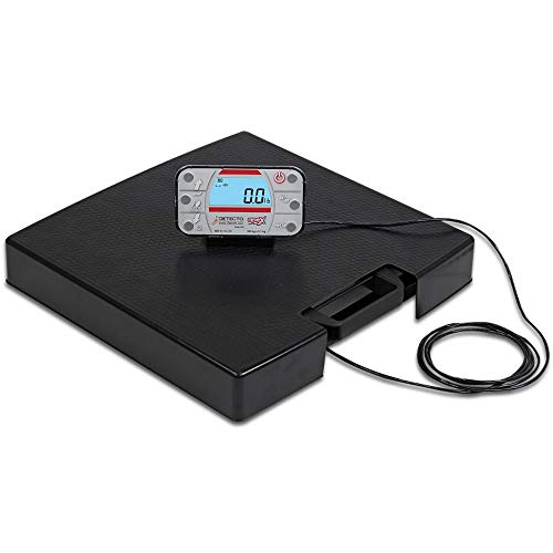 Detecto APEX Digital Scale with Mechanical Height Rod & AC A