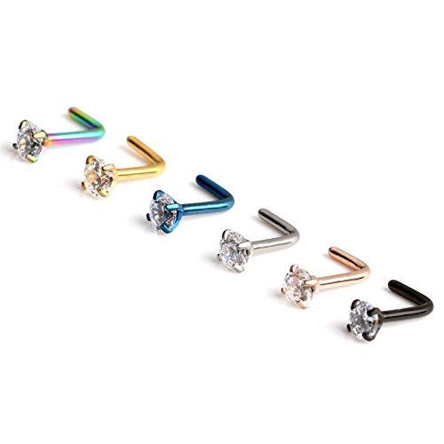 Ruifan Diamond Shaped Piercing Jewelry product image