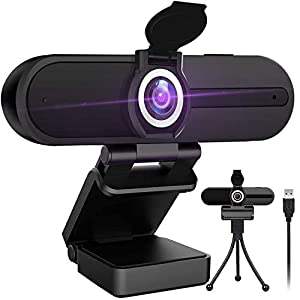 GoHZQ 4K Webcam with Microphone 8 Megapixel