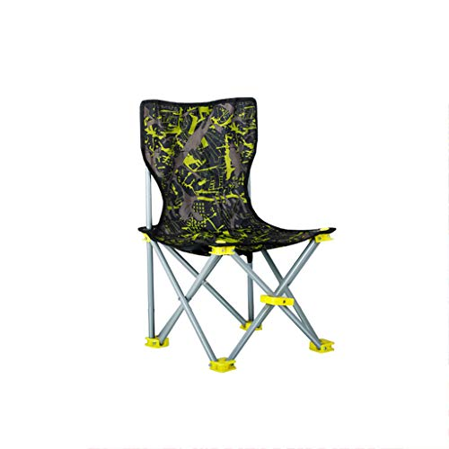 XHLZDY Outdoor Fishing Chair, Foldable Portable Multi-Functional Light Chair, Self-Driving Barbecue Camping Stool, Camouflage (Size : 30 × 30 × - Bar Oxford Stool 30