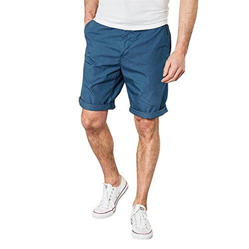 Petrol Industries Pantalones Cortos para Hombre Azul (Teal 5071)