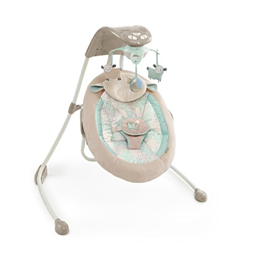 Ingenuity Inlighten Cradling Swing – Lullaby Lamb