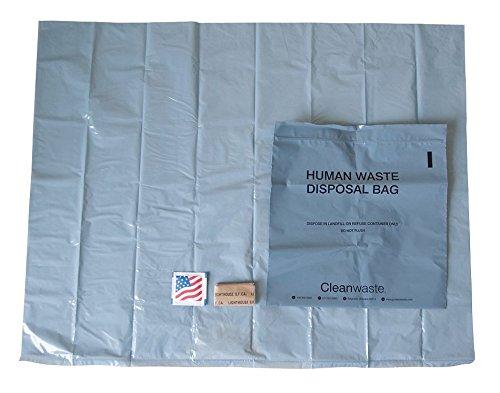 (Toilet Kit, Biodegradable, PK12)