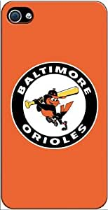 Baltimore Orioles MLB iPhone 4-4S Case v113102mss
