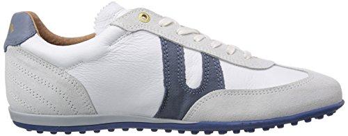 Pantofola D´Oro Scafati Low Men - Zapatos para hombre, color Blanco (BRIGHT WHITE NEW)