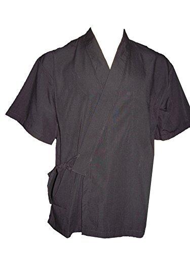 Black Sushi Chef Uniform in Extra Large