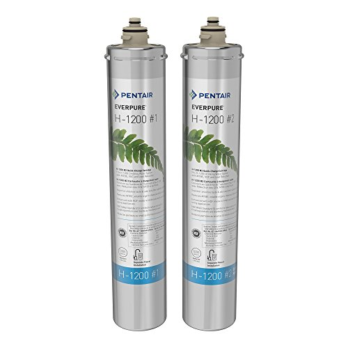 Everpure H-1200 Water Filter Replacement Cartridge Set (EV9282-01) by Everpure