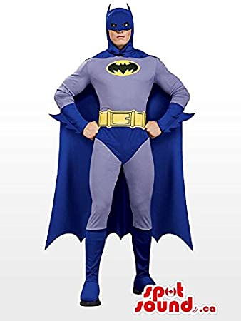 Amazon.com: Todos los azul real Batman Character disfraz de ...