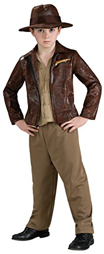 Indiana Jones Child's Deluxe Indiana Jones Costume, Small