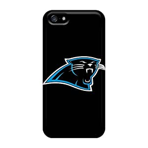 Fashion Tpu Cases For Iphone 5/5s- Carolina Panthers 3 Defender Cases Covers Black Friday